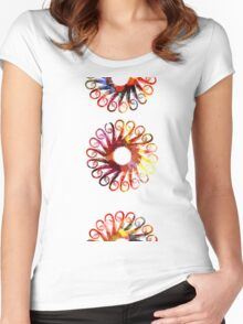 Autumn Wheels Women's Fitted Scoop T-Shirt