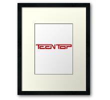 Teen Top Framed Print