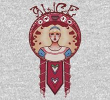 Curiouser and Curiouser-Alice Kids Tee