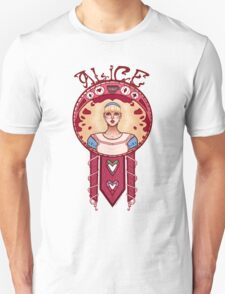 Curiouser and Curiouser-Alice T-Shirt