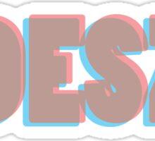 Odesza 3D  Sticker