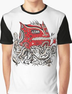 Red Monster Graphic T-Shirt