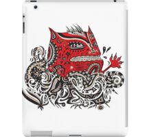 Red Monster iPad Case/Skin