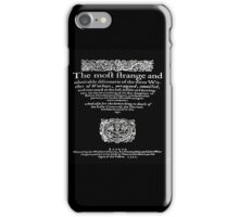 THREE WITCHES iPhone Case/Skin