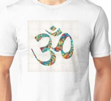 Colorful Om Symbol - Sharon Cummings Unisex T-Shirt