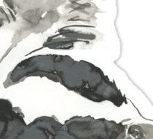 Skunk Painting  Sticker