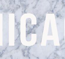 Marble Chicago Sticker
