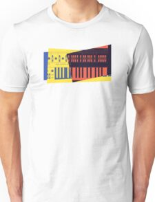 Pop Art Synth 101 Unisex T-Shirt