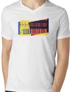 Pop Art Synth 101 Mens V-Neck T-Shirt