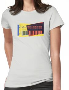 Pop Art Synth 101 Womens Fitted T-Shirt