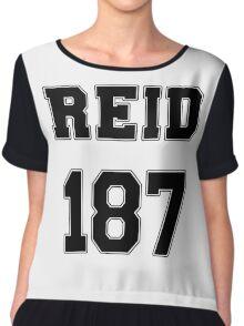 Reid Jersey Design #187 Chiffon Top