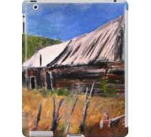Old Barn New Mexico Desert Contemporary Acrylic Painting iPad Case/Skin