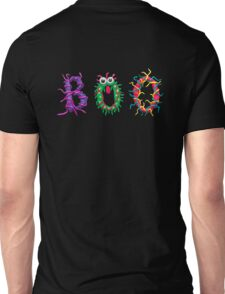 Colorful text Boo Unisex T-Shirt