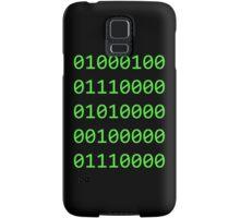 Binary sequence Samsung Galaxy Case/Skin
