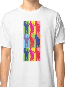 Pop Art Sax Player Classic T-Shirt