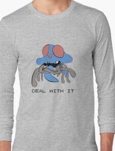 Tentacruel says Deal With It Long Sleeve T-Shirt