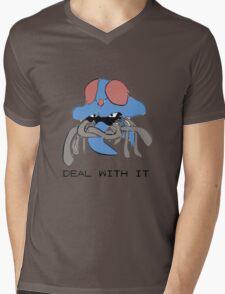 Tentacruel says Deal With It Mens V-Neck T-Shirt