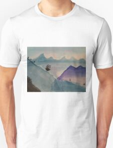 Watercolor Landscape Unisex T-Shirt