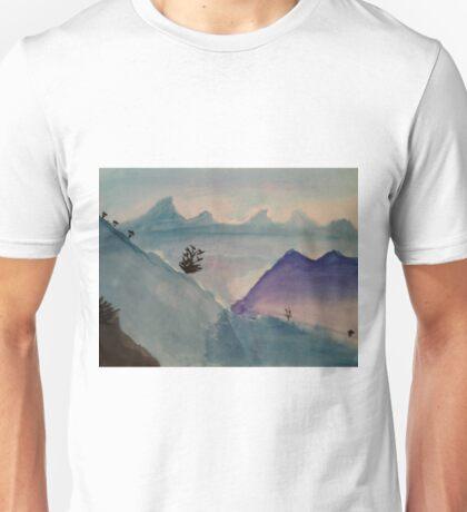 Watercolor Landscape Unisex T-Shirt