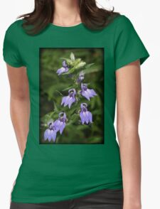 Tiny Lavender Womens Fitted T-Shirt