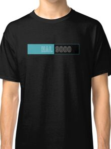 2001 A Space Odyssey Hal 9000 logo Classic T-Shirt