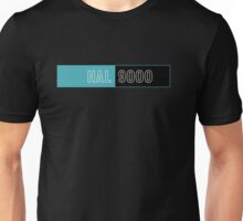 2001 A Space Odyssey Hal 9000 logo Unisex T-Shirt