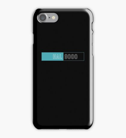 2001 A Space Odyssey Hal 9000 logo iPhone Case/Skin