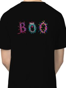 Colorful text Boo Classic T-Shirt