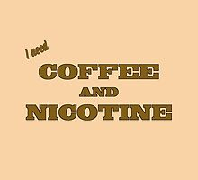 Coffee And Nicotine by Andrew Alcock