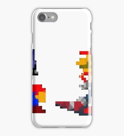Mario Sonic Nintendo Sega iPhone Case/Skin