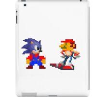 Mario Sonic Nintendo Sega iPad Case/Skin