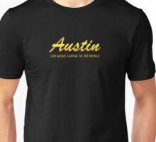 Austin live music gold Unisex T-Shirt