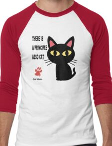 CAT PRINCIPLE Men's Baseball ¾ T-Shirt