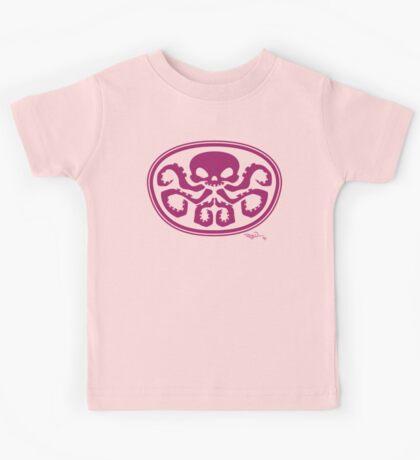 Hydra logo (girls and women) Kids Tee