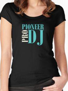 Pioneer Dj Pro Women's Fitted Scoop T-Shirt