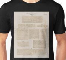 0261 Griechische Inschriften aus Philae 200 201 Quai 202 203 Obelisk 204 208 Säulengang F Dem 183 184 Philae Unisex T-Shirt