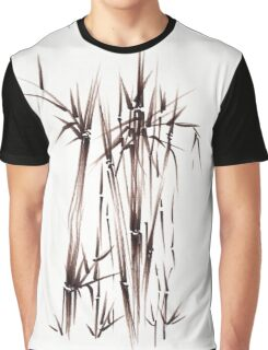 Garden of Dreams - sumie ink brush pen drawing on paper Graphic T-Shirt