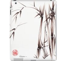 Garden of Dreams - sumie ink brush pen drawing on paper iPad Case/Skin