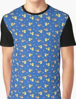 Pika&Eevee Graphic T-Shirt