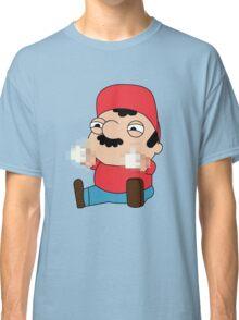 Super Mario is a jerk Classic T-Shirt