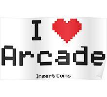 love arcade Poster