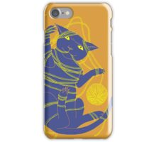 Crafty Cat Meant to do That iPhone Case/Skin
