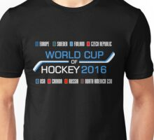 World Cup of Hockey 2016 Unisex T-Shirt