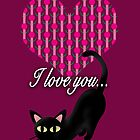 I love you  by BATKEI