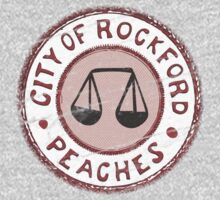 League of Their Own - Rockford Peaches Kids Tee