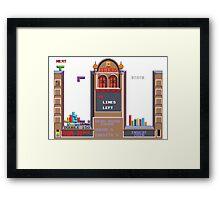 atari game Framed Print