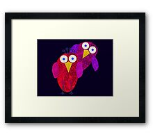 Owlette and her boyfirend Framed Print