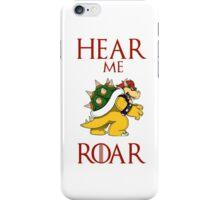 Hear me roar: Bowser iPhone Case/Skin