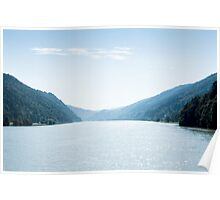 Panoramic view of the Danube Valley Poster