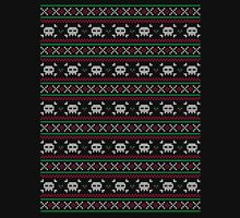 Skulls Christmas Sweater Long Sleeve T-Shirt